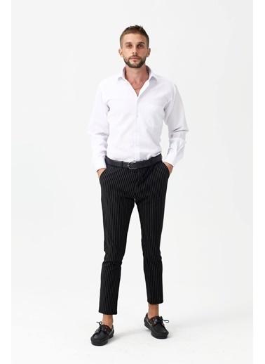 Modaplaza Erkek Gömlek Beyaz Klasik Beyaz